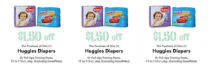 Huggies Diapers Publix Coupon NLA on Publix Site – Get it HERE FREE!!