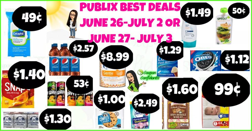Publix BEST Deals and FULL Match ups! June 26 – July 2 or June 27 – July 3