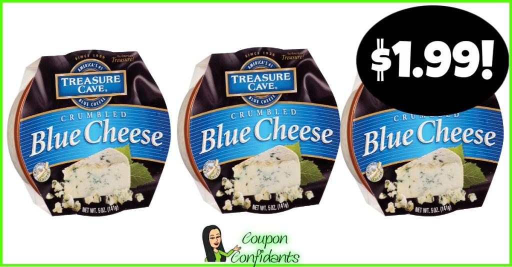 Treasure Cave Blue Cheese Crumbles $1.99at Publix!