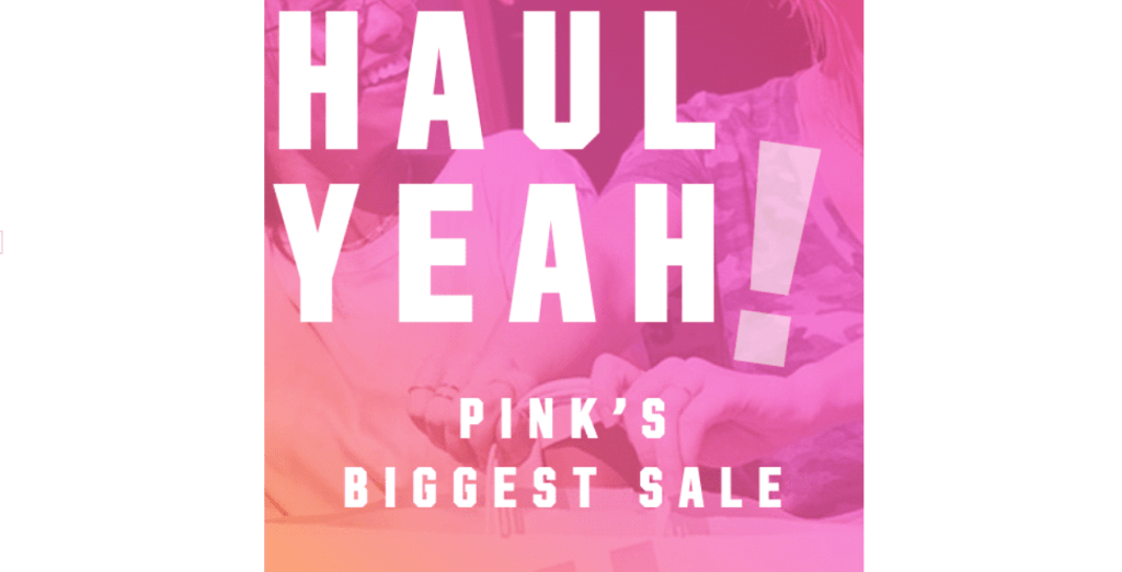 HUGE Victoria's Secret PINK Sale!