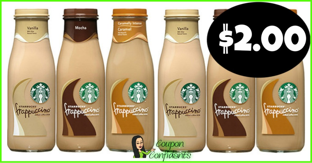 Starbucks Single Drinks $2 at Publix!
