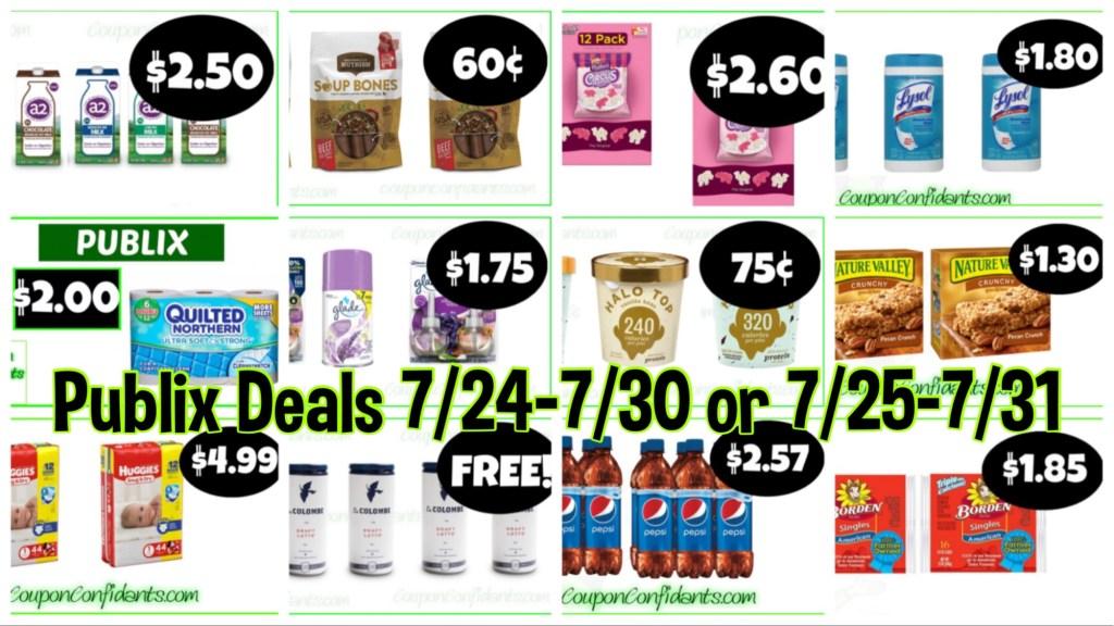 Publix BEST Deals! July 24-30 or July 25-31