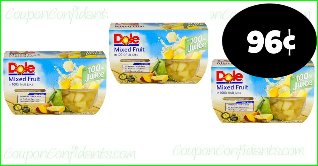 Dole Fruit 96¢ at Publix!