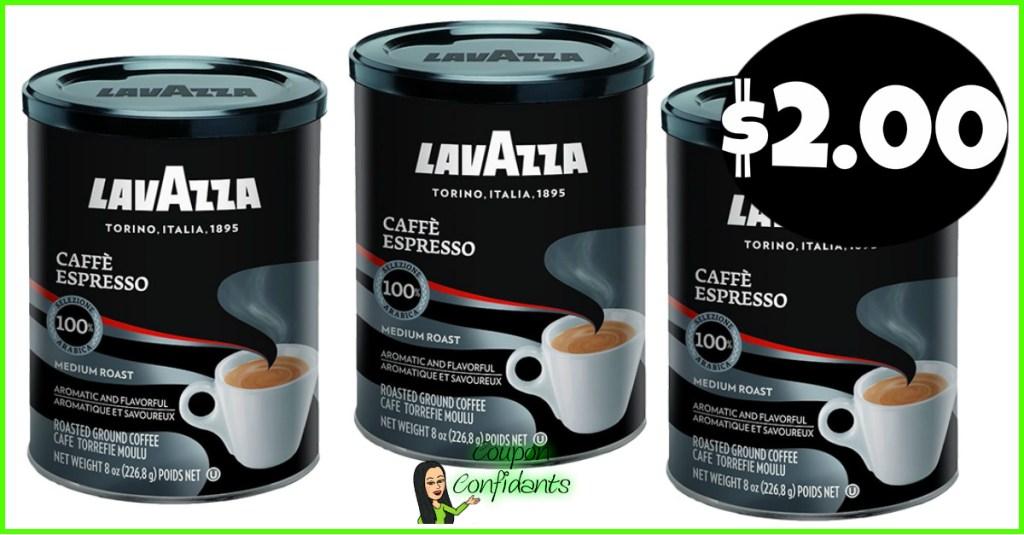 $2 Lavazza Coffee at Publix!! YUMMM!!