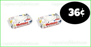 36¢ Huggies Wipes and the PDF Coupon too!! Publix Deal!