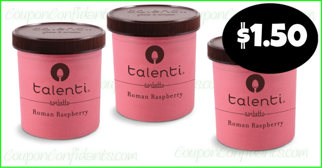 Talenti $1.50 at Publix!