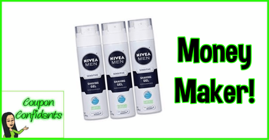 MONEY MAKER on Nivea Men Shave at Publix!
