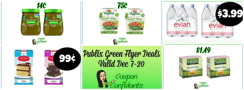 PUBLIX GREEN FLYER DEALS DEC 7 – DEC 20