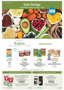 Publix Green Flyer 1/4-1/17