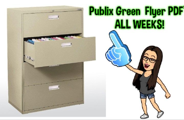 Publix Green Flyer PDFS! ALL Weeks in one place!