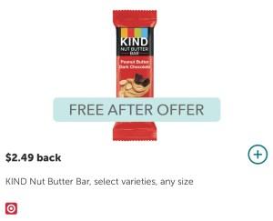 FREE kind Bar at Target!