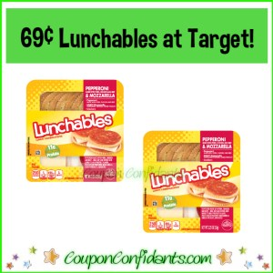 Oscar Mayer Lunchables 69¢ at Target!
