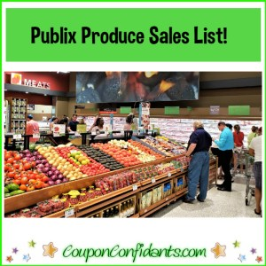 Publix Produce Sales List!