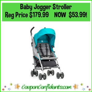 Baby Jogger Vue Lite Single Stroller Reg Price $179.99 NOW $53.99!