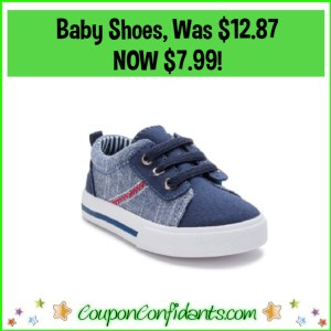 Baby Boy Shoes Reg Price $12.87 NOW $7.99!