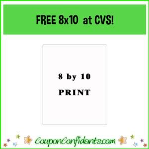 FREE 8×10 Print at CVS!