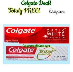 FREE toothpaste for EVERYONE at Walgreens!