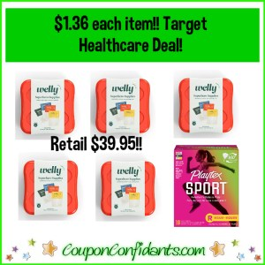 RUN! Clearance, Circle Offer, Rebates, and Gift Card! $1.36 each item at Target!