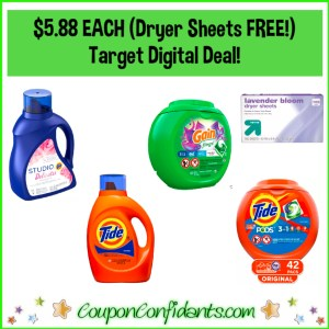 Target Laundry Care Deal!