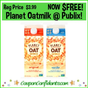 FREE Oatmilk at Publix for EVERYONE!