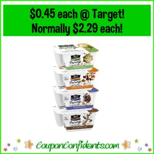 YES! $0.45 So Delicious Pairings Yogurts at Target! Reg Price $2.29 each!
