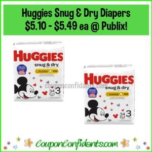 Huggies Snug & Dry Diapers Deals! Scenarios for EVERYONE here!!