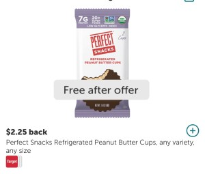 FREE Perfect Snack at Target for EVERYONE!