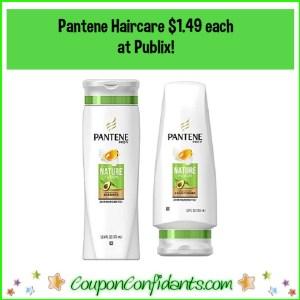 Pantene $1.49 ea at Publix for EVERYONE!