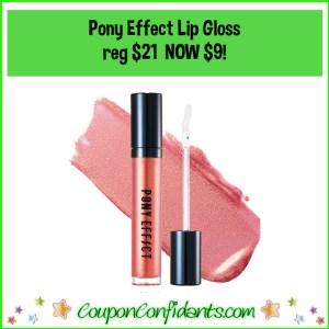 Pony Effect Lip Gloss Reg $21 NOW $9!