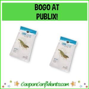 Publix Large White Shrimp BOGO at Publix!