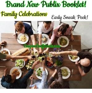 Publix Family Celebrations Booklet – Savings while celebrating Family