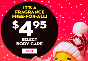 Bath & Body Works $4.95 Select Fragrance and 50% Select 3 Wick Candles!