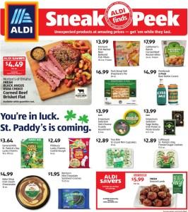 Aldi Sneak Peek AD!
