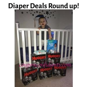 Diaper Deals Round Up!
