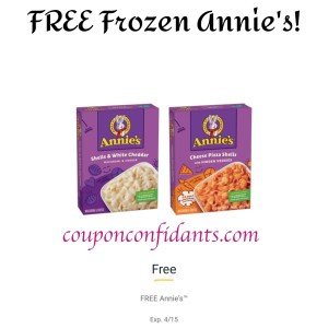 FREE Annie's Frozen Pasta at Publix for EVERYONE!