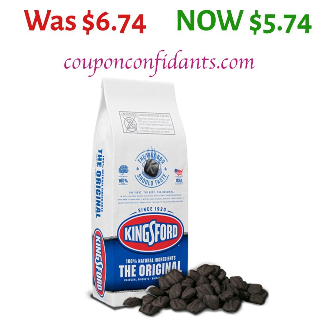 Kingsford Charcoal 8 lb $5.74 at Walmart!