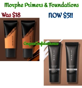 Morphe Foundations and Primers $5 – Limited time only!!