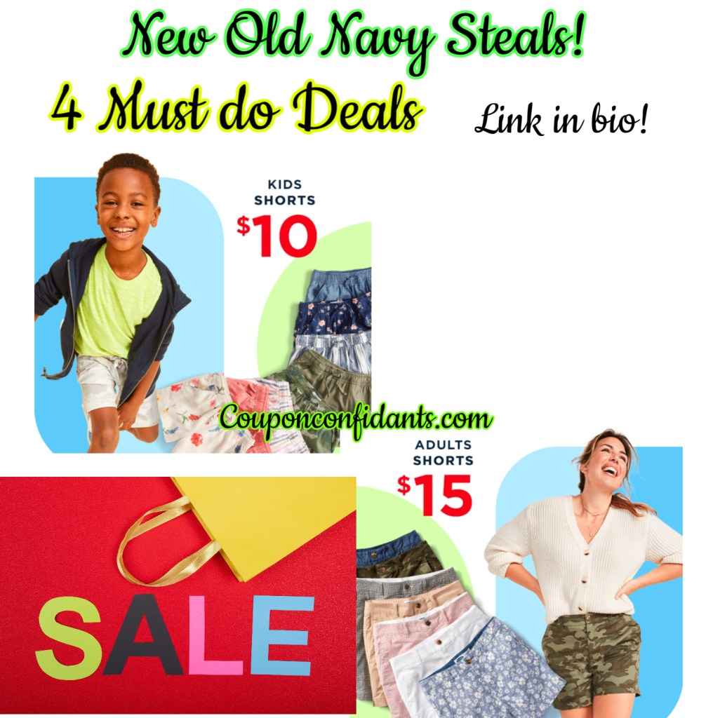 $3 Tanks, $10 Shorts for Kids and $15 Shorts for Adults! RUN!