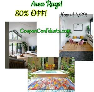 Wayfair Rugs HUGE Sale! up to 80% OFF!