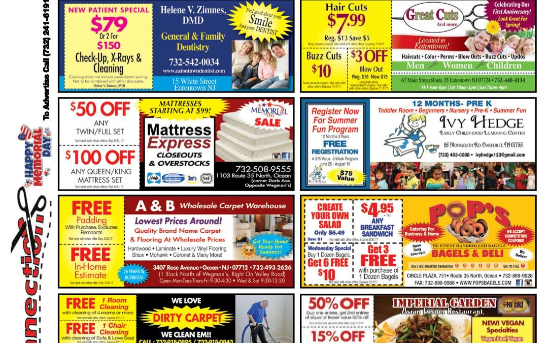 MAY 2017 COUPON CONNECTION – CLICK TO SEE COUPONS