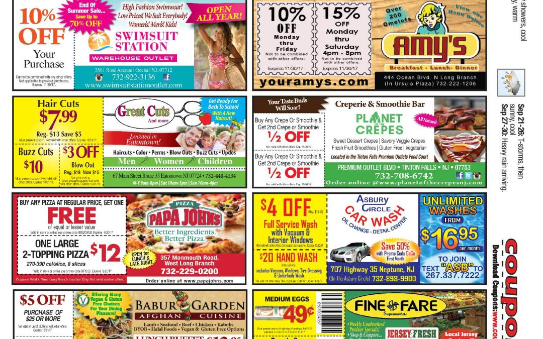COUPON CONNECTION/BACK TO SCHOOL CONNECTION – Click to See Coupons