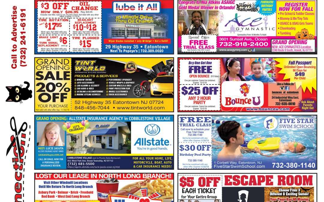 September/2018 Coupon Connection – Click Here To See Coupons