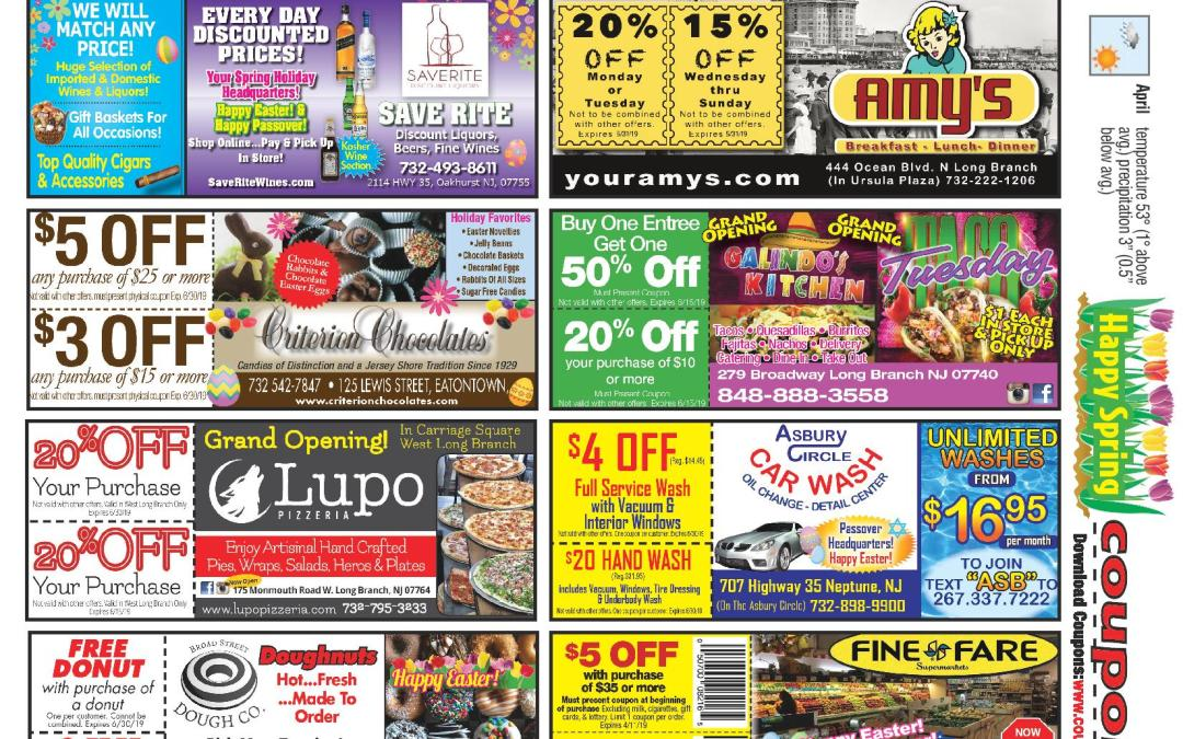 March/2019 Coupon Connection – Click here to see coupons
