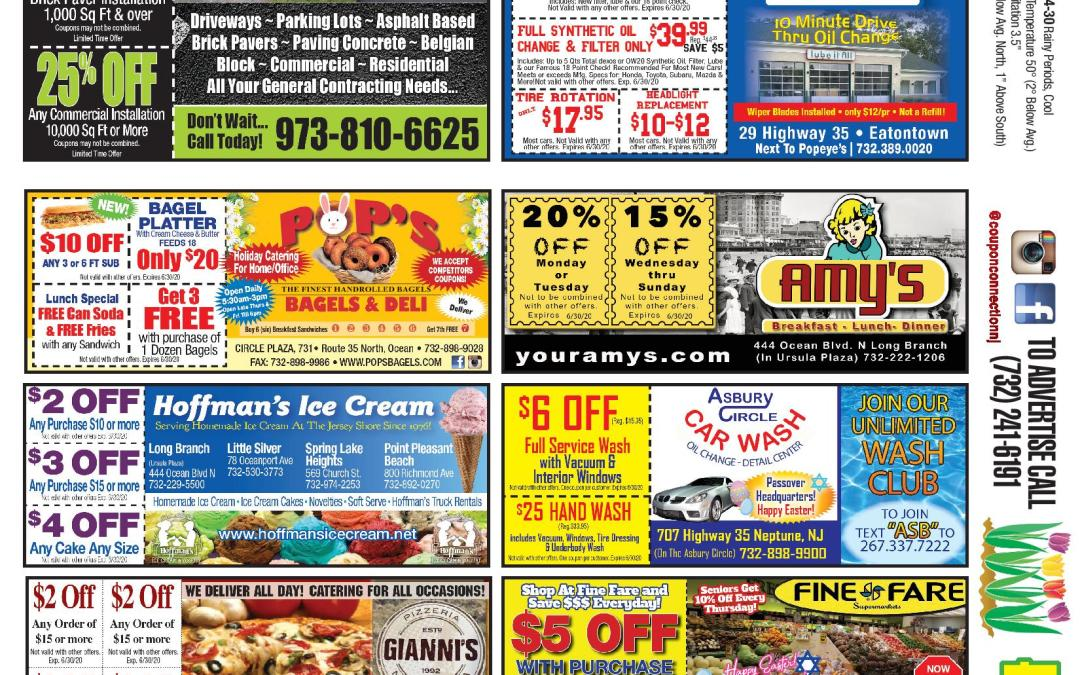 July/2020 Coupon Connection – Click Here To See Coupons & Savings