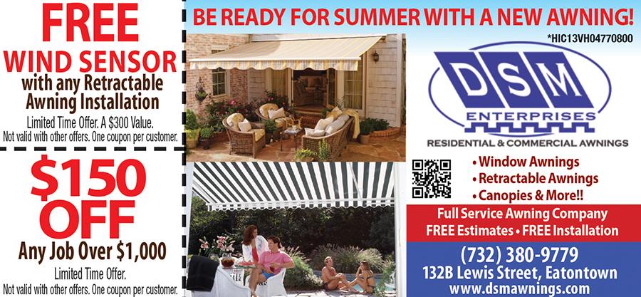 DSM Residential & Commercial Awnings
