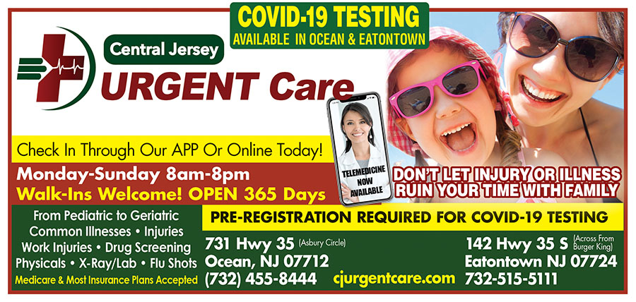 Central Jersey Urgent Care