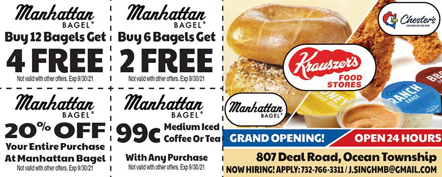 Krauser's/Manhattan Bagel/Chester's Chicken
