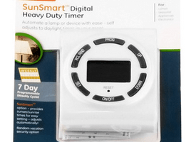 GE 7Day Digital Wall Timer $12 Shipped