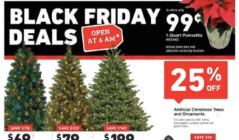 Lowe's 2017 Black Friday Deals