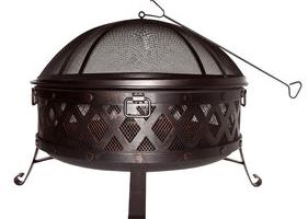 Lowe's: Garden Treasures Wood-Burning Fire Pit $69 (Reg. $99)